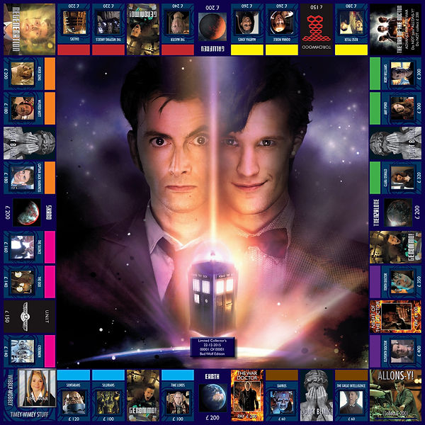 Doctor Who - Tenth & Eleventh Doctors