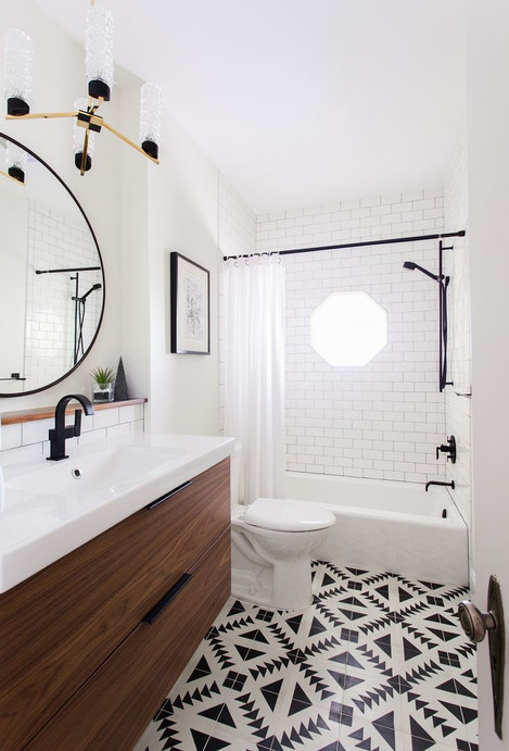 Decorative Floor - On the Ball Bathrooms