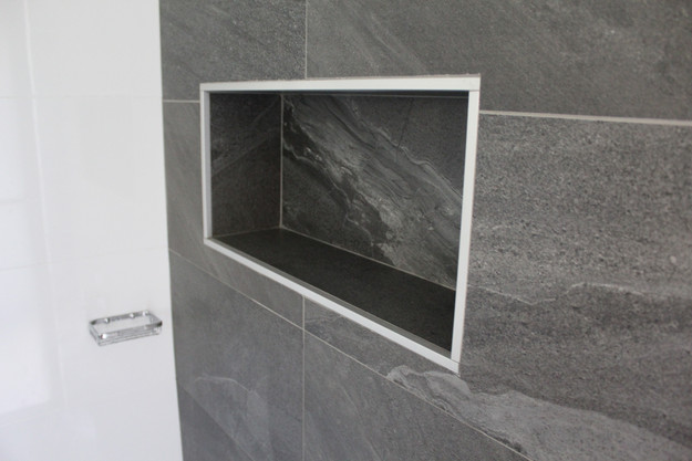 Although Matt Tiles Are A Por Choice For The Floor Of Your Bathroom You Can Use These On Walls Too Do Not Reveal Smudges And