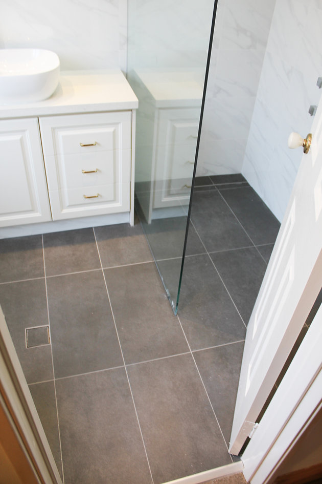 Before And After Small Ensuite Perth Bathroom
