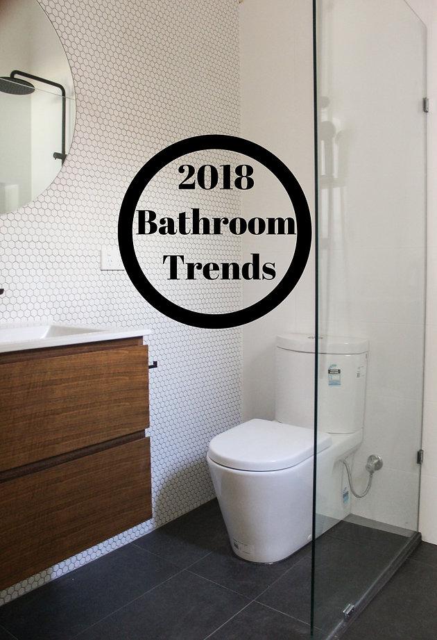 5 Bathroom Renovation Trends 2018 Bathroom Renovations Perth