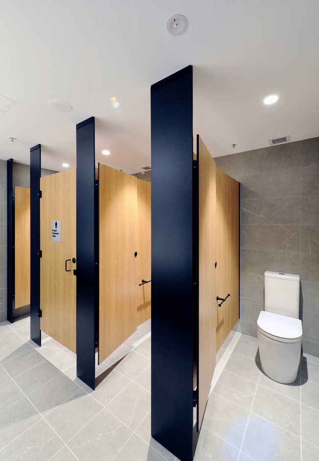 Tiling To What Height In The Toilet Bathroom Renovations Perth