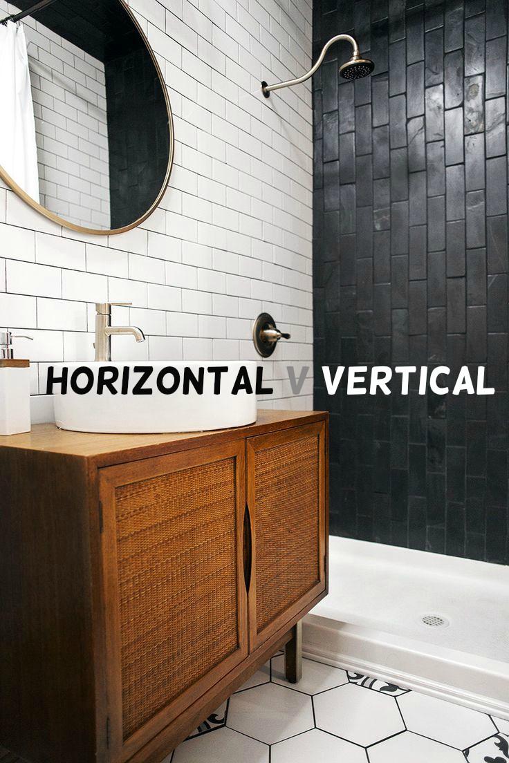 Horizontal Tiles V Vertical Tiles Bathroom Renovations Perth