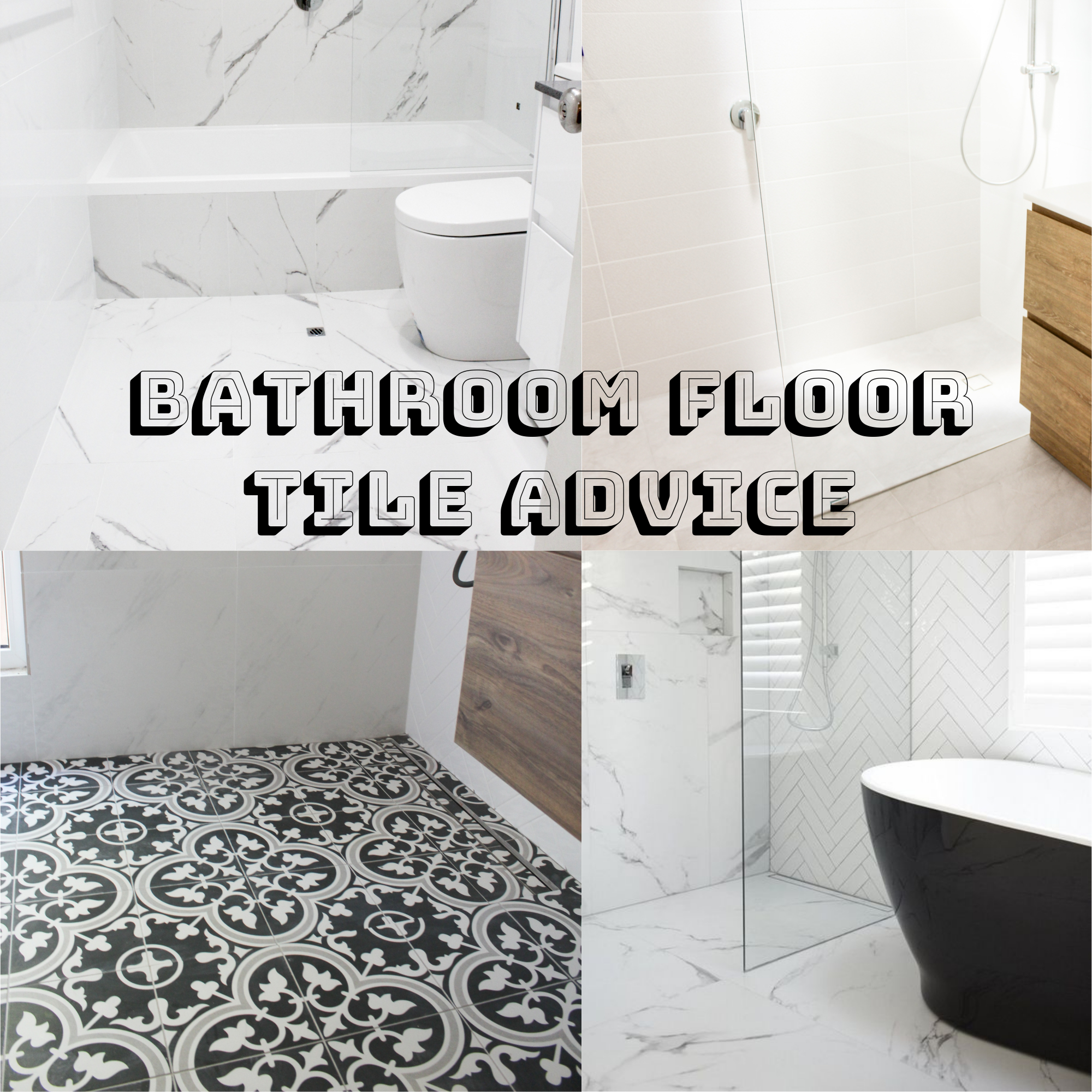 Bathroom Floor Tiles (Which Size Is For Me) | Bathroom Renovations Perth