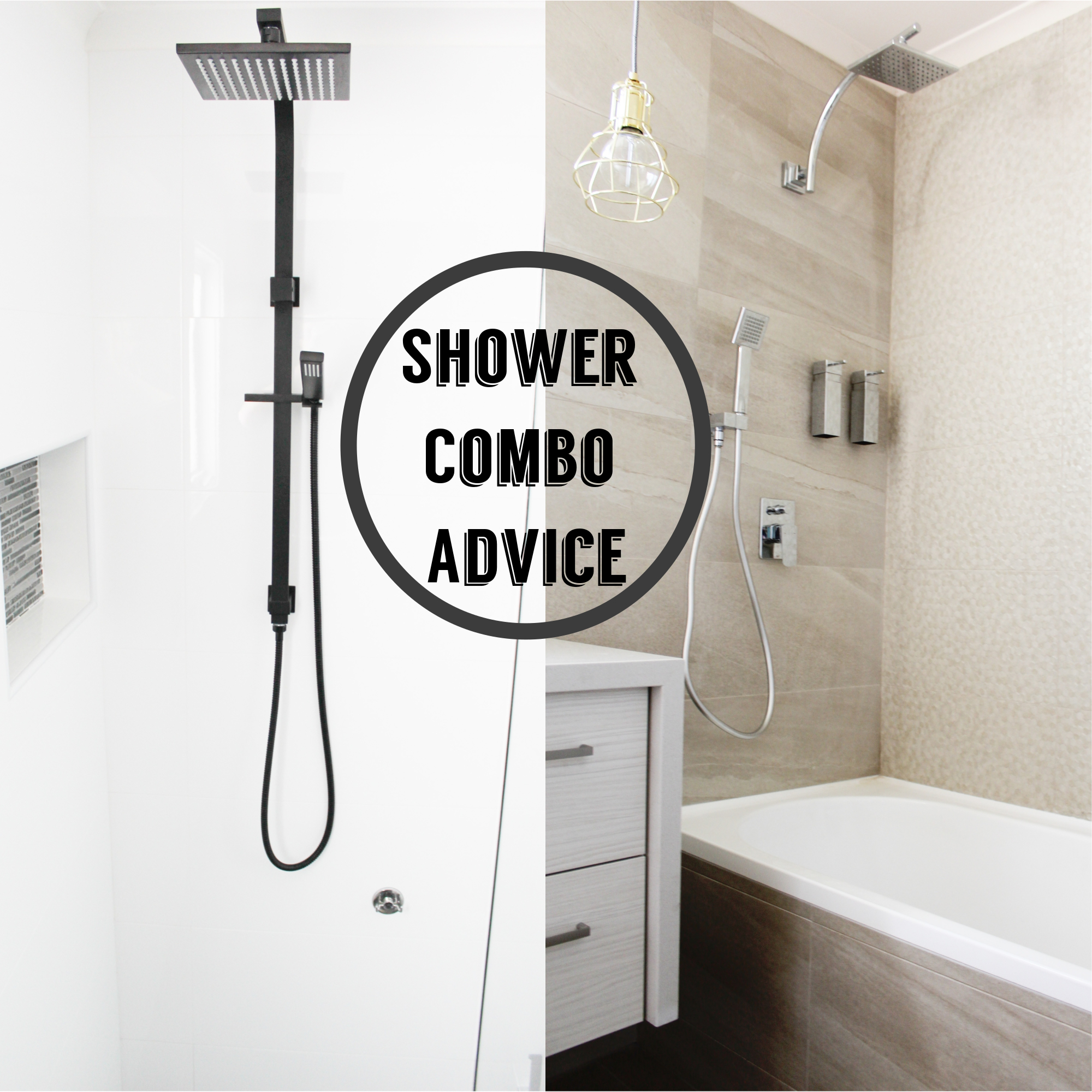 Combo Shower Outlet - Why You Need It | Bathroom Renovations Perth