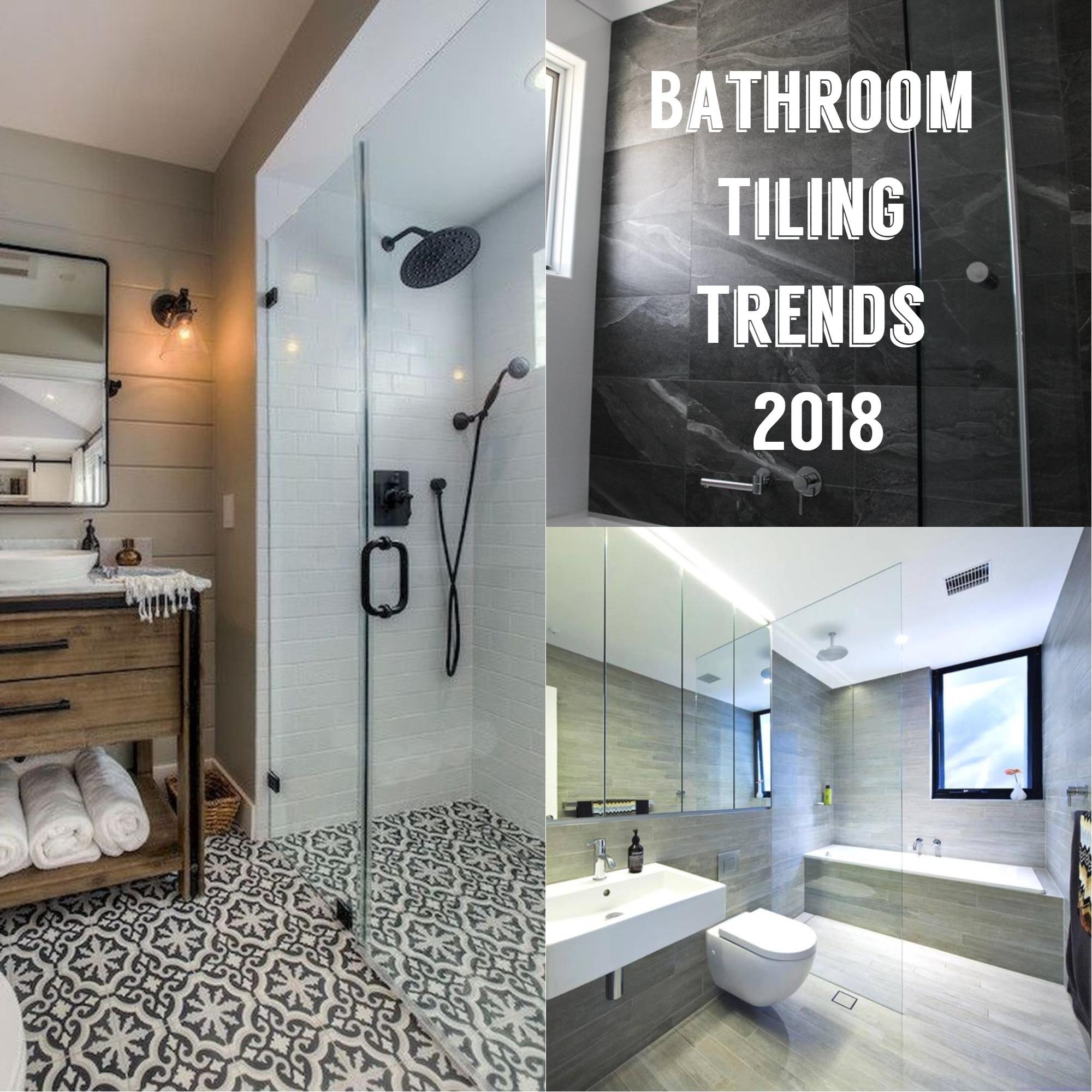 Excellent Bathroom Tiling Trends Of 2018 Download Free Architecture Designs Scobabritishbridgeorg