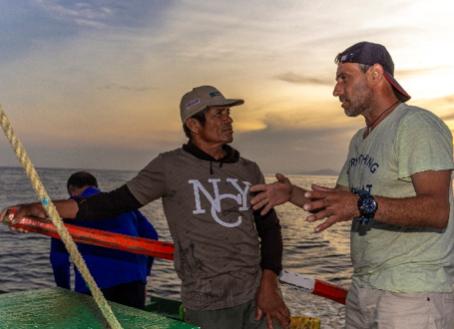 Palabras de Claudio Pichaud, sobre su experiencia de intercambio entre pescadores artesanales