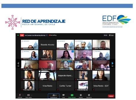 Presentación NODOS de la Red de Aprendizaje