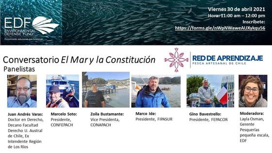 """Conversatorio:  """"EL Mar y la Nueva Constitución"""""""
