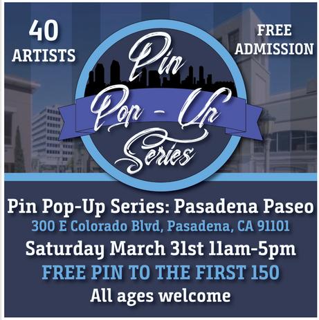 Pin Pop-Up Series