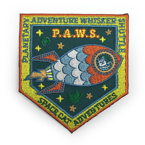 P.A.W.S. Space Cat Patch