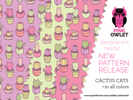 Cactus Cats are here!