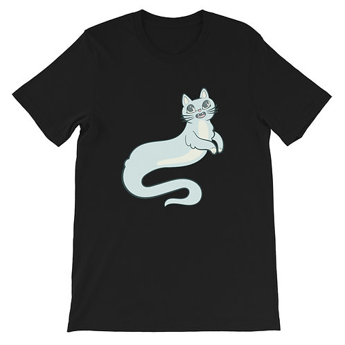 Ghost Kitty Short-Sleeve Unisex T-Shirt