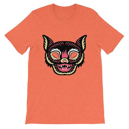 Masquerade Retro Bat Mask Short-Sleeve Unisex T-Shirt