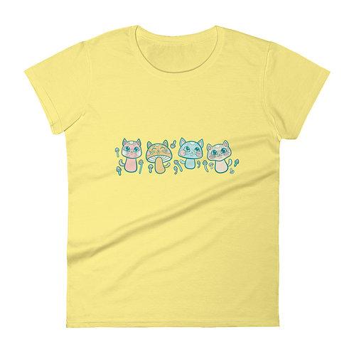 Meowshrooms Women's short sleeve t-shirt