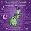 Thumbnail: Fanciful Ferret Purple and Green Enamel Pin