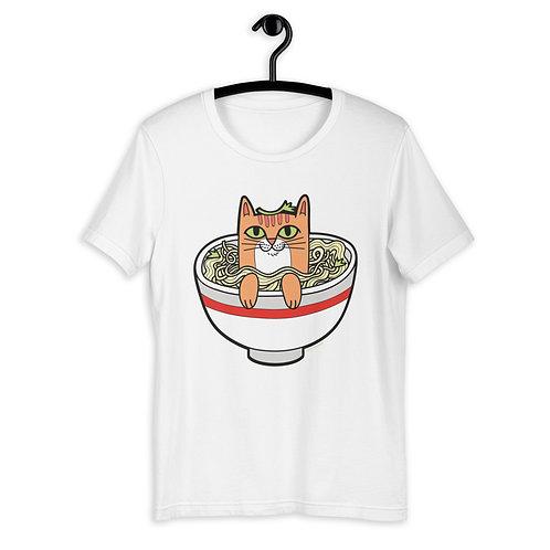 Pho Cat Short-Sleeve Unisex T-Shirt