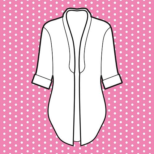 Chiffon Kimono Open Front
