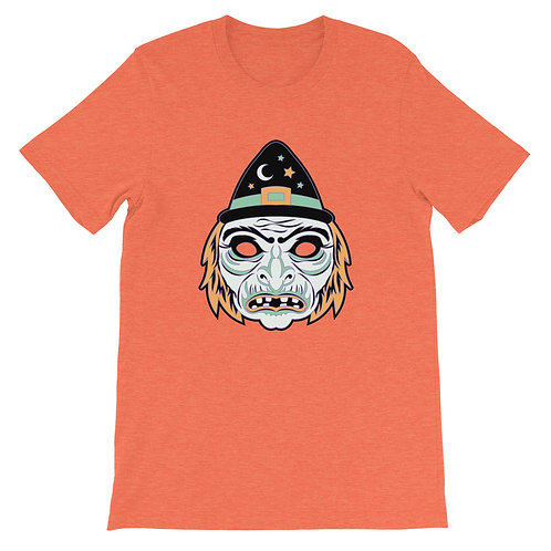 Masquerade Retro Witch Mask Short-Sleeve Unisex T-Shirt