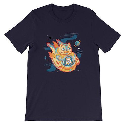CATBOTS Catship Short-Sleeve Unisex T-Shirt