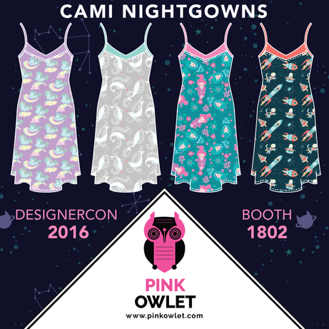 Cami Nightgowns!