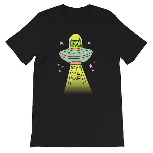 Beam Me Up Short-Sleeve Unisex T-Shirt