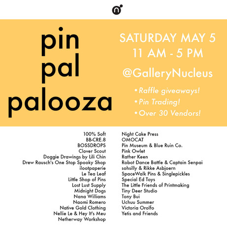 PinPal Palooza 2018