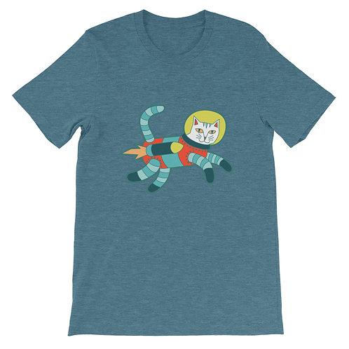 Catstronaut Short-Sleeve Unisex T-Shirt