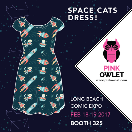 Space Cats... on a Dress!