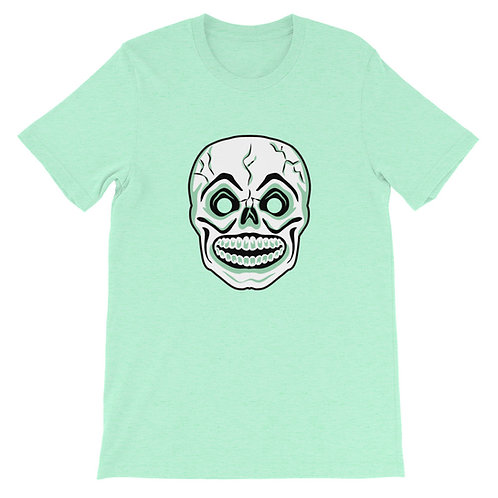 Masquerade Retro Skull Mask Short-Sleeve Unisex T-Shirt