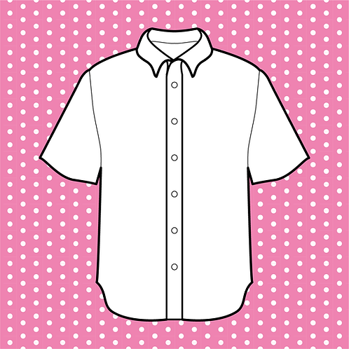 Custom Patterned Button-up Shirt