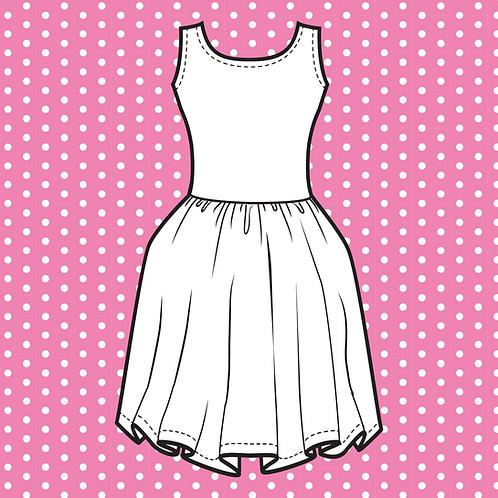 Pink Owlet Custom Skater Dress