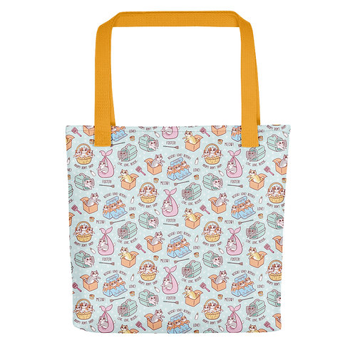 Rescue Kittens Luxury Tote bag