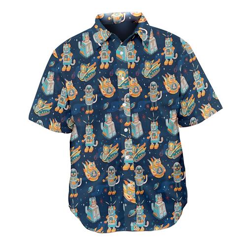 Cat Bots Men's Shirt