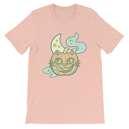 Pumpkitty Short-Sleeve Unisex T-Shirt
