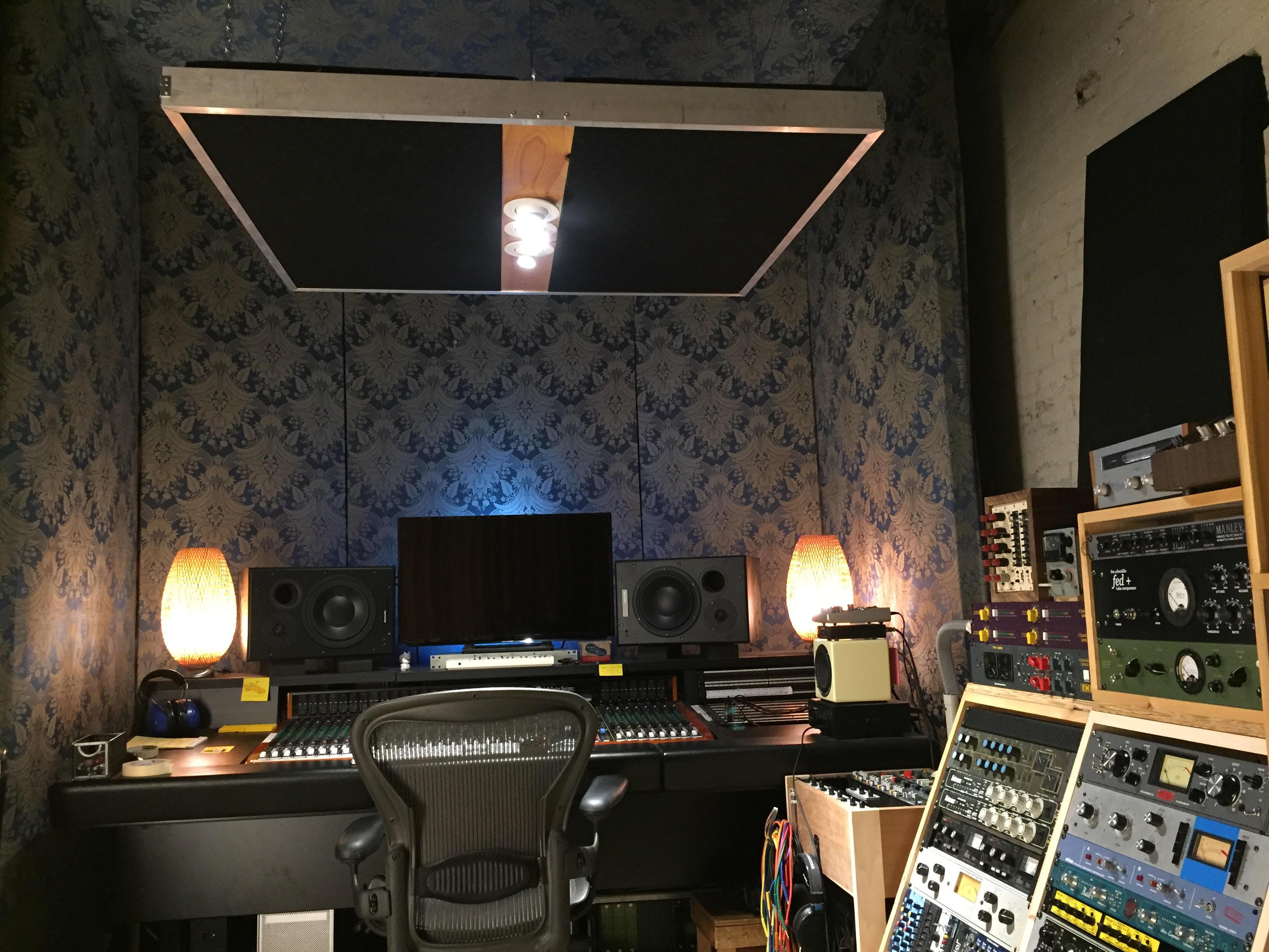 Studio Control Room - Musical Vibes