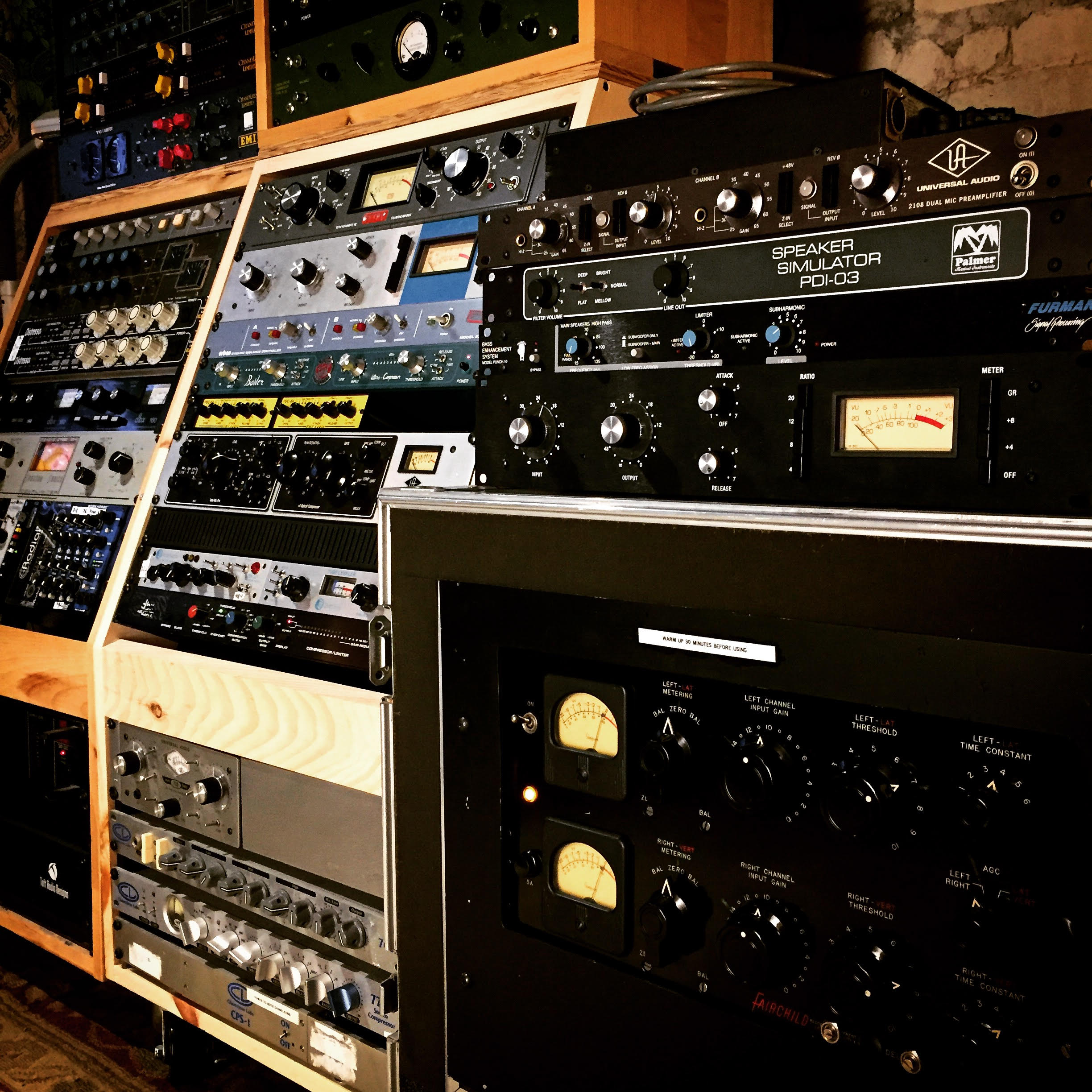 Recording Gear - Vinegar Hill Sound
