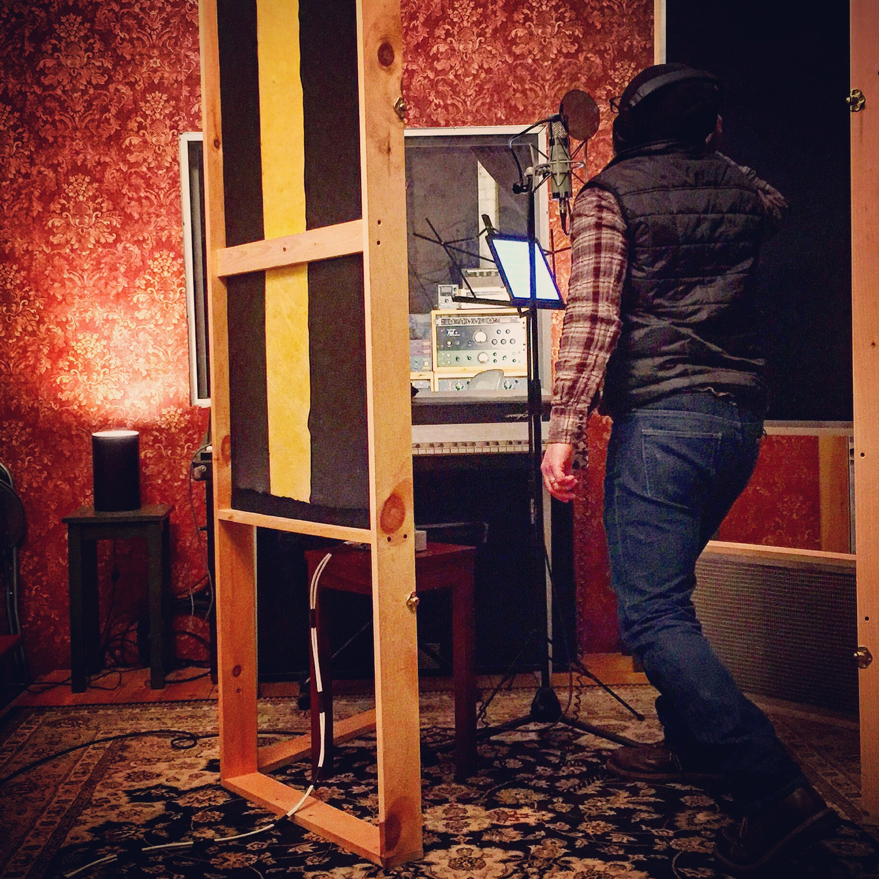 Alex Nackman Vocal Recording