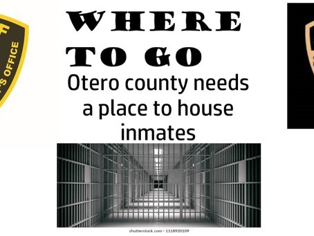 Local leaders and Law Enforcement Search Hard for a Solution to House Otero County Inmates.