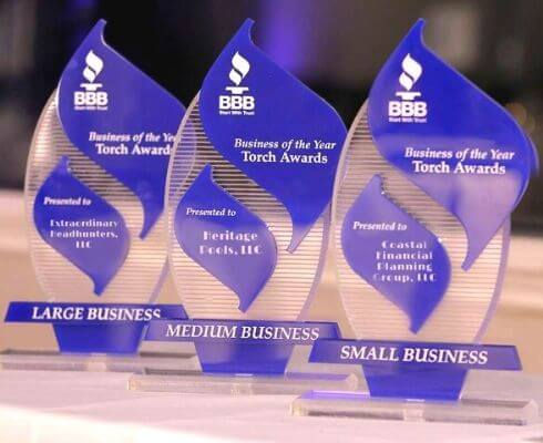 2020 BBB Business of the Year Torch Awar