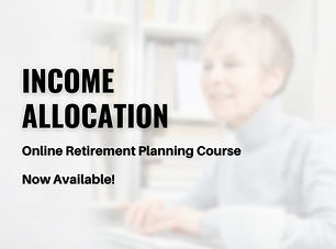 Income Allocation Online Course Charlest