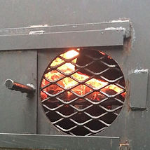 All fired up!! #trippsbbq #woodfiredcook