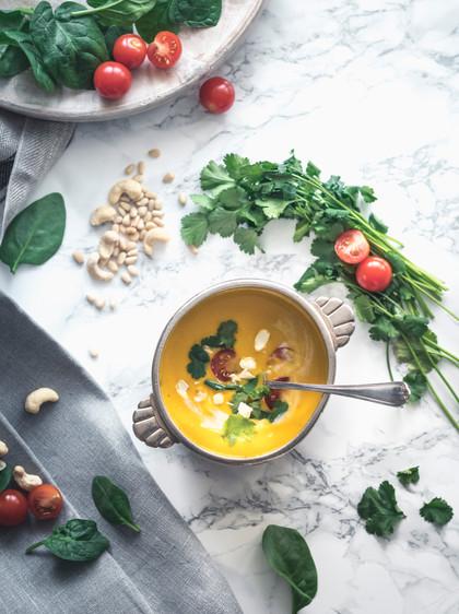 Stylisme et cuisine