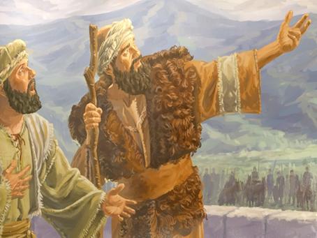 2 REIS 7 - Eliseu Profetiza Abundância em Samaria