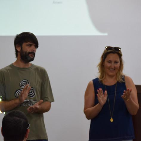 Paula Poças e Landro Teixeira