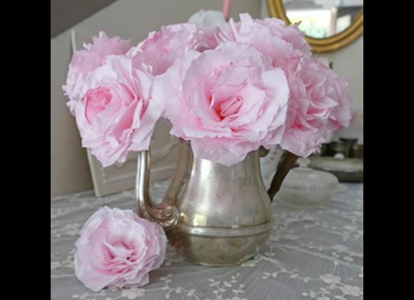 Roses rosées