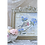 Thumbnail: Tableau Rouge-gorge aux fleurs bleues