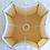 Thumbnail: Abat-jour carré incurvé et coins plats