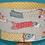 Thumbnail: Abat-jour cylindrique Koinobori jaune