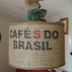 Suspension avec sac à café